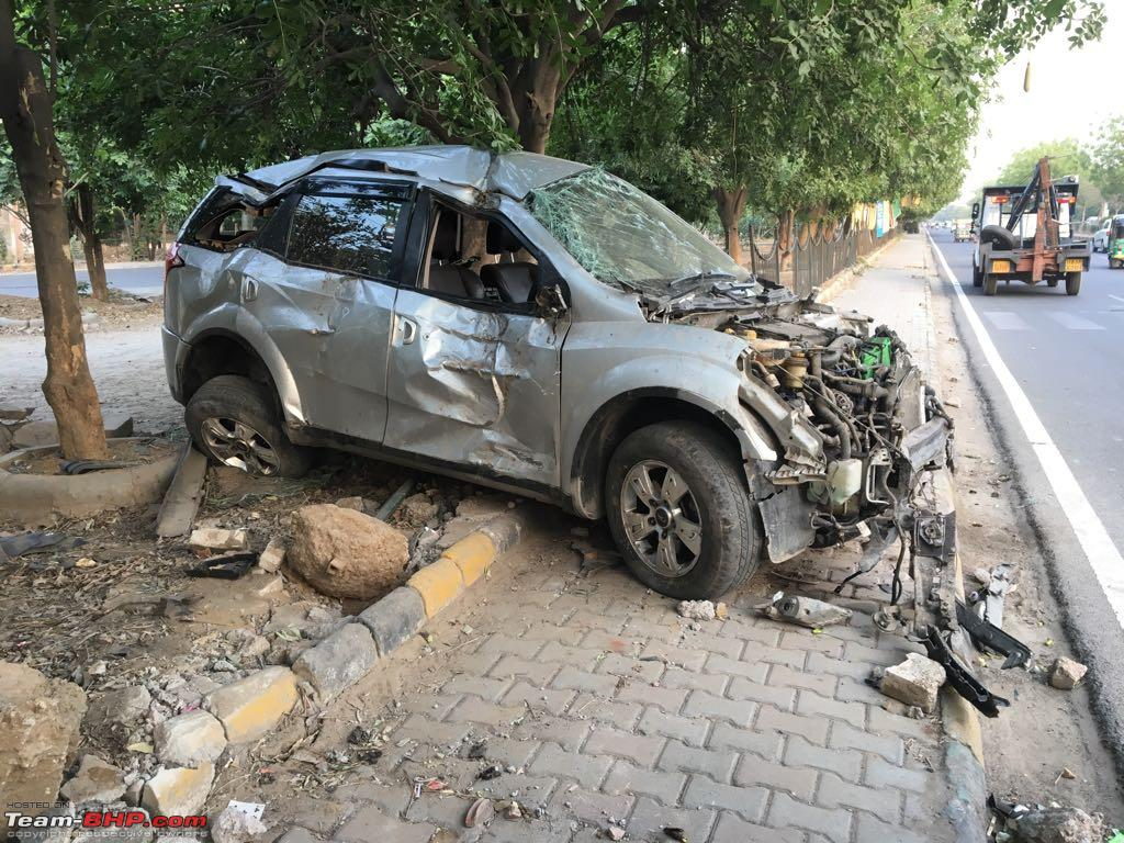 XUV500 airbags do not open in crash
