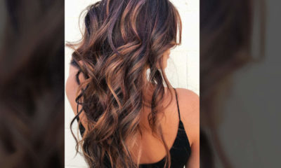 Hair Style with Beautiful Colours
