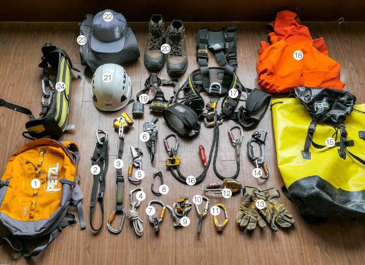 Gear for Rope Access